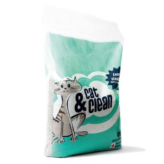 Cat & Clean® Brilliant mit Babypuderduft 15kg